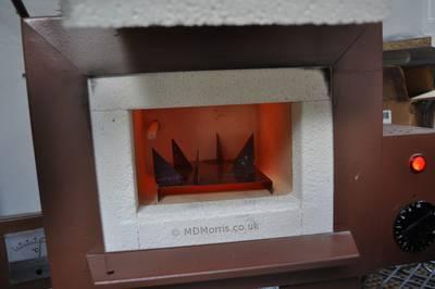 fire the trivet in the kiln