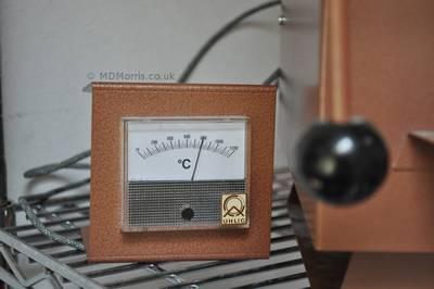 Kiln temperature