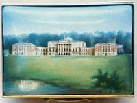 A Large Country House Miniature Painting on Enamel by Anthony Phillips