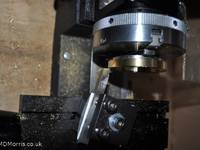 Setting the lathe tool position