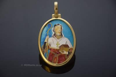 St. Kyneburgha Enamel Chorister Medal