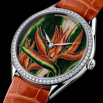 Cloisonné watch dial by Vacheron Constatin