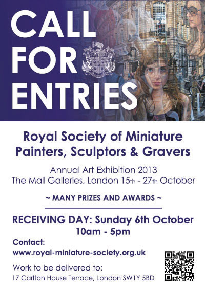 Royal Society of Miniature Painters, Sculptors and Gravers at the Mall Galleries, London