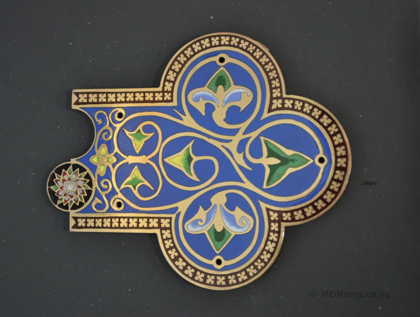 Enamel Cross Project (part 4)