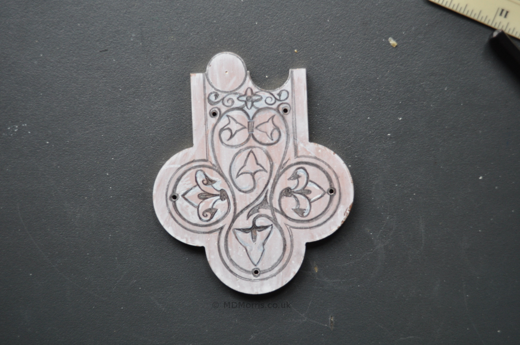 Enamel Cross Project (part 2)