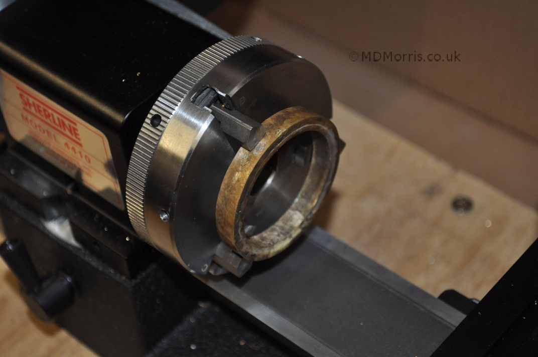 Making a watch case (part 3), turning the ring on a lathe