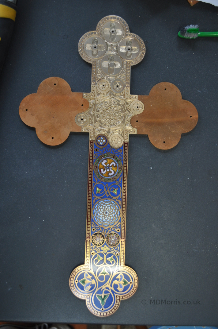 Enamel Cross Project (part 7)